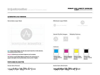 Logo Identity Guideline Template