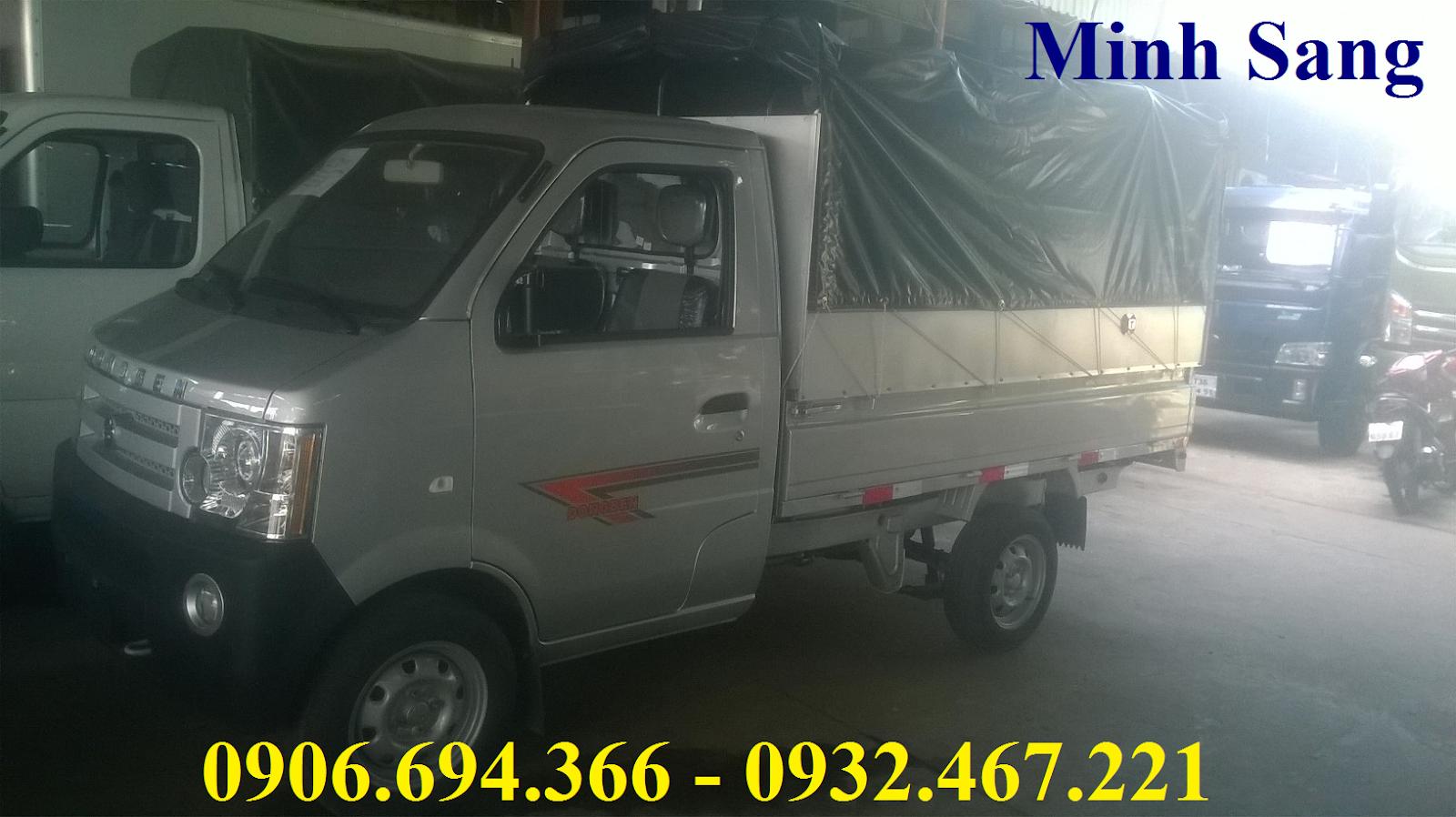 Xe tải Dongben 870 kg thùng lửng.png