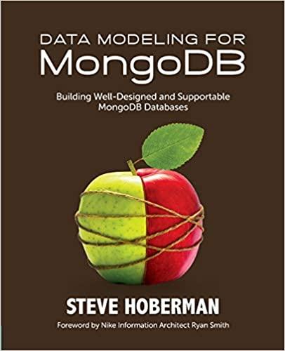 Data Modeling for MongoDB book cover