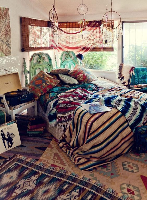 Sleeping Space with Layered Look
