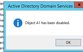 Disable or Enable Active Directory Users and Computers with easy steps
