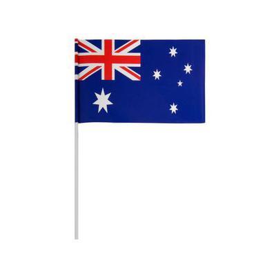 Discount Party Supplies Australian Flags - Pk 10