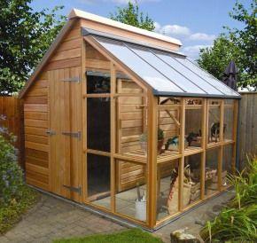 custom wooden garden shed
