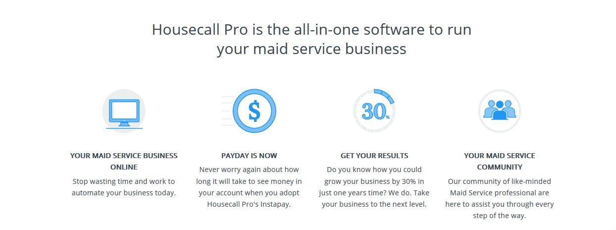 Housecall Pro landing page