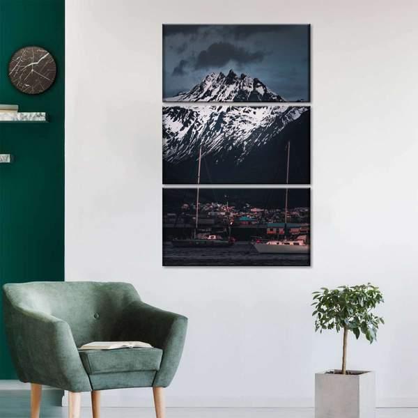 Argentina Mountain Multi Panel Canvas Wall Art
