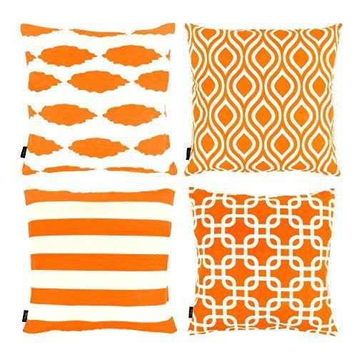 Resultado de imagen para Cojines naranjas