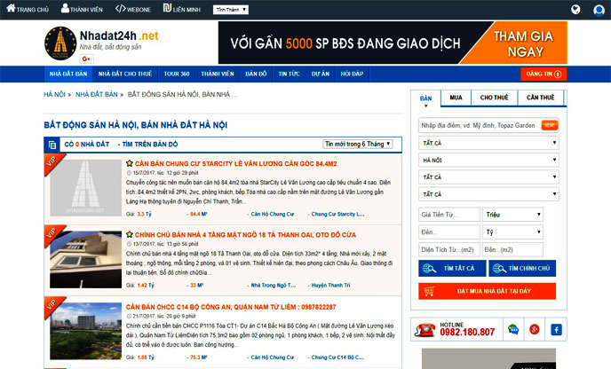 Website nhadat24h.net mang đến những thông tin hữu ích cho người xem