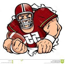 Top Mean Cartoon Football Player Vector Drawing » Free Vector Art, Images,  Graphics & Clipart