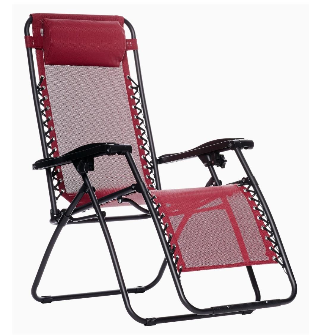 best zero gravity chairs | AmazonBasics Outdoor Zero Gravity Lounge Folding Chair