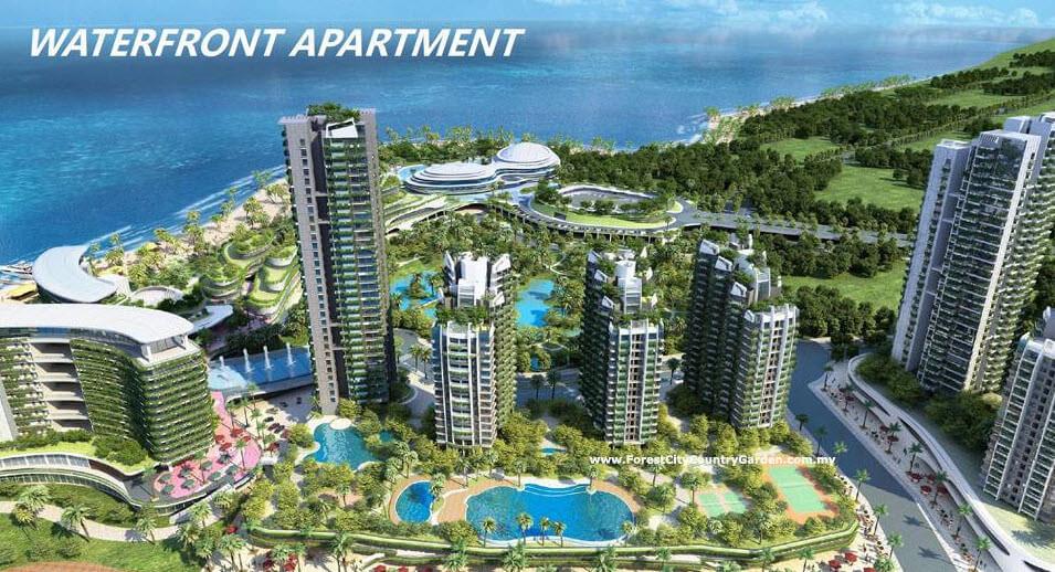 Kết quả hình ảnh cho Dự án forest city