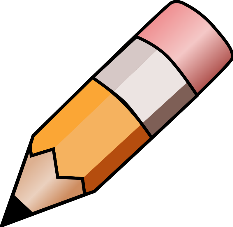 Illustration of a pencil ...