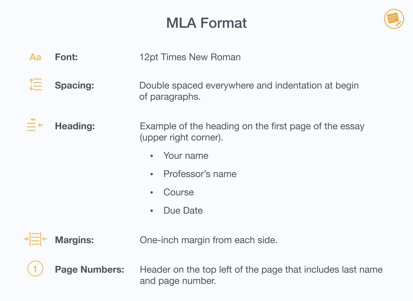 MLA-format