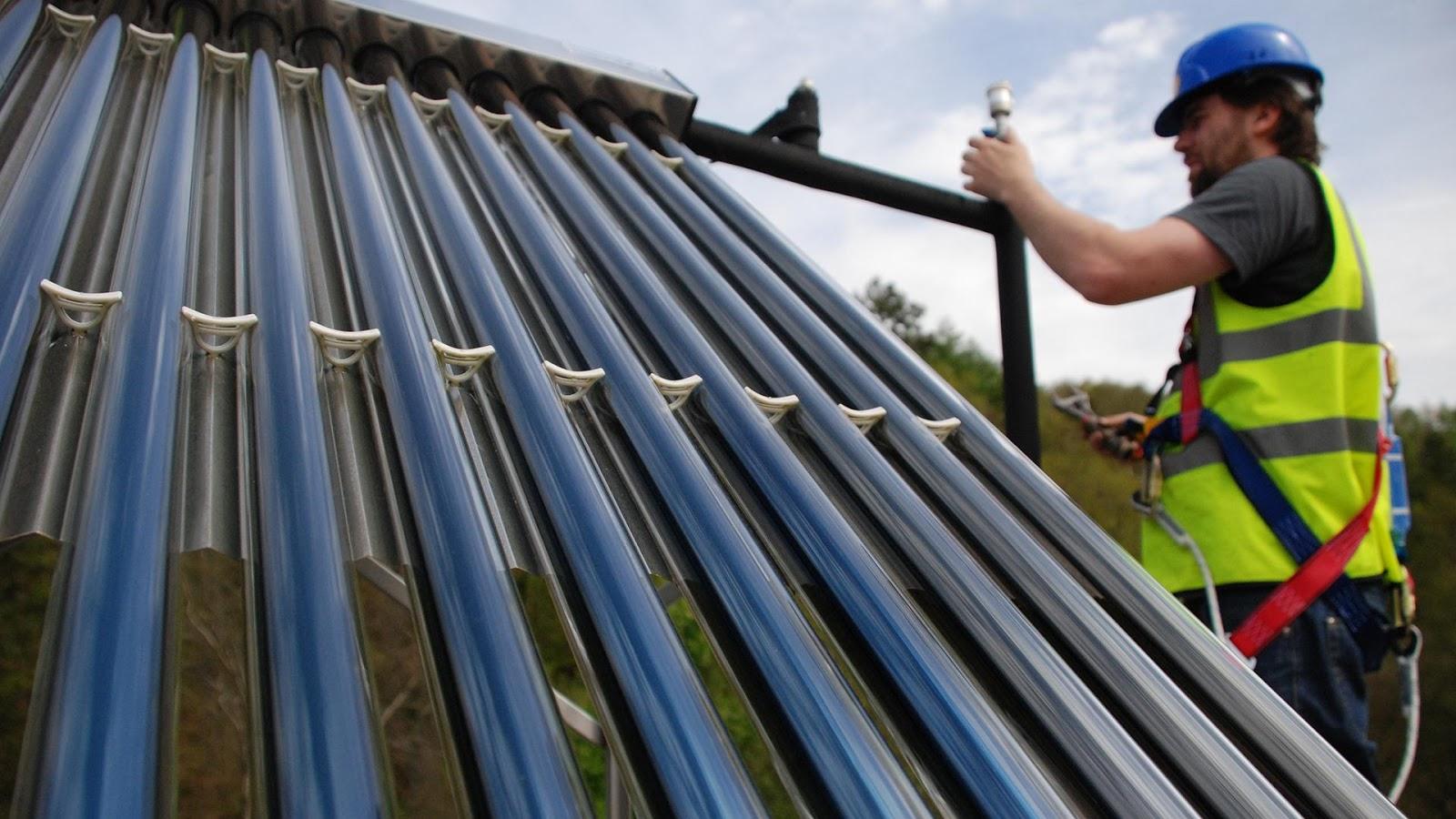 Kiểm tra van một chiều, ống thủy tinh khi máy nước nóng năng lượng mặt trời không giữ nhiệt