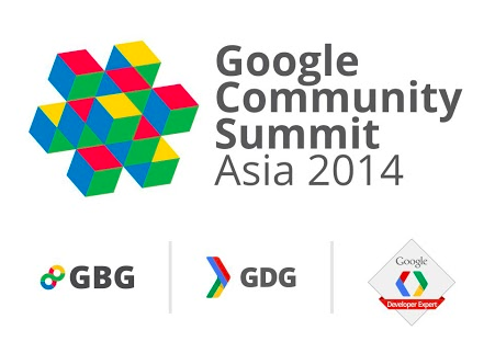Google Community Summit Asia 2014 logo