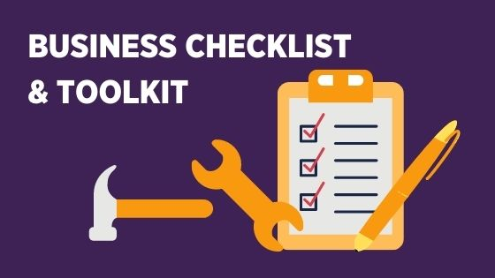 business checklist and toolkit header