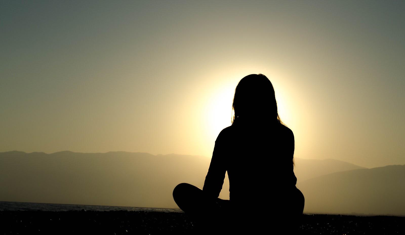 瞑想 太陽