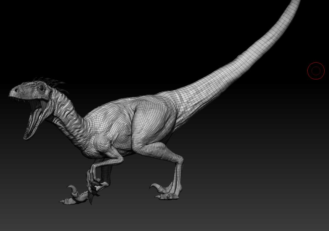 How To Model and Texture a Raptor   The Rookies