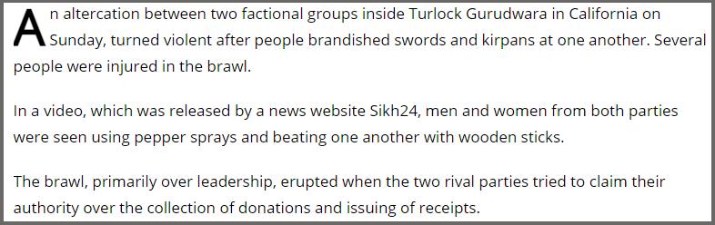 C:\Users\Fact3\Desktop\FC\Sikhs fighting in Gurudwara in California4.jpg