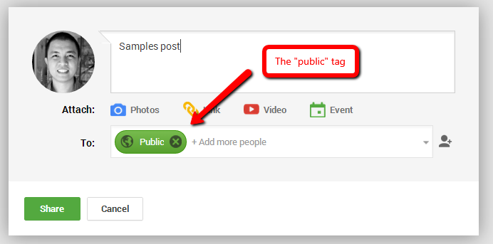 Send notifications to your target audience when you publish a post