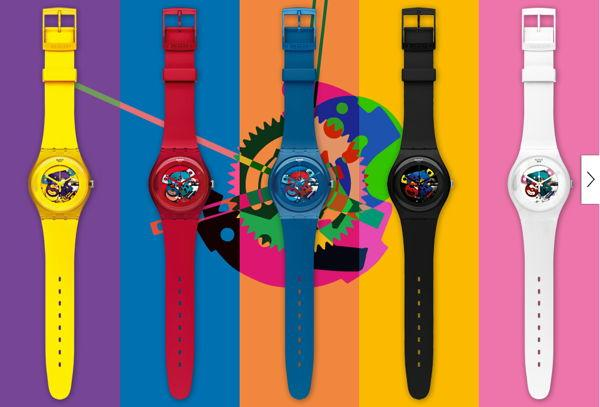 Thể hiện cá tính với đồng hồ Swatch