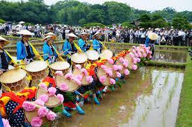 恒例行事「お田植え祭」 2019年6月9日(日曜日)/後楽園