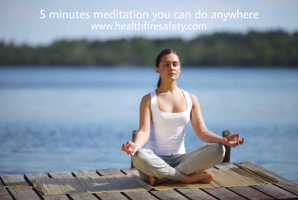 5 min Meditation anywhere for bigenners depression stress anxiety