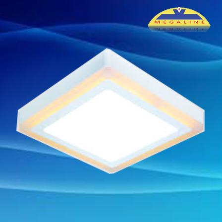 Đèn led ốp trần panel đổi màu DMB512 12W 1050lm