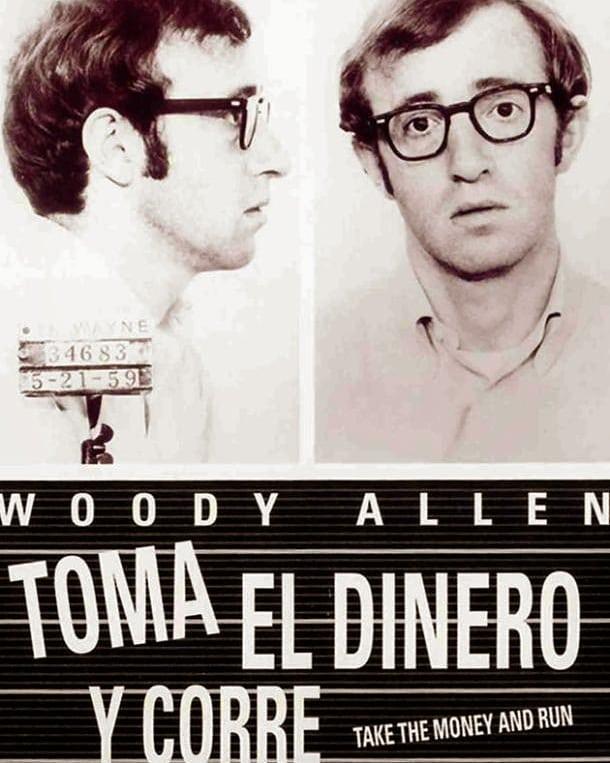 Toma el dinero y corre (1969, Woody Allen)