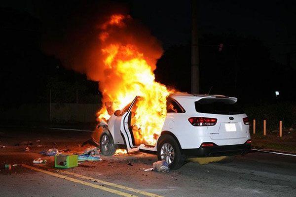 Mơ thấy ô tô bốc cháy