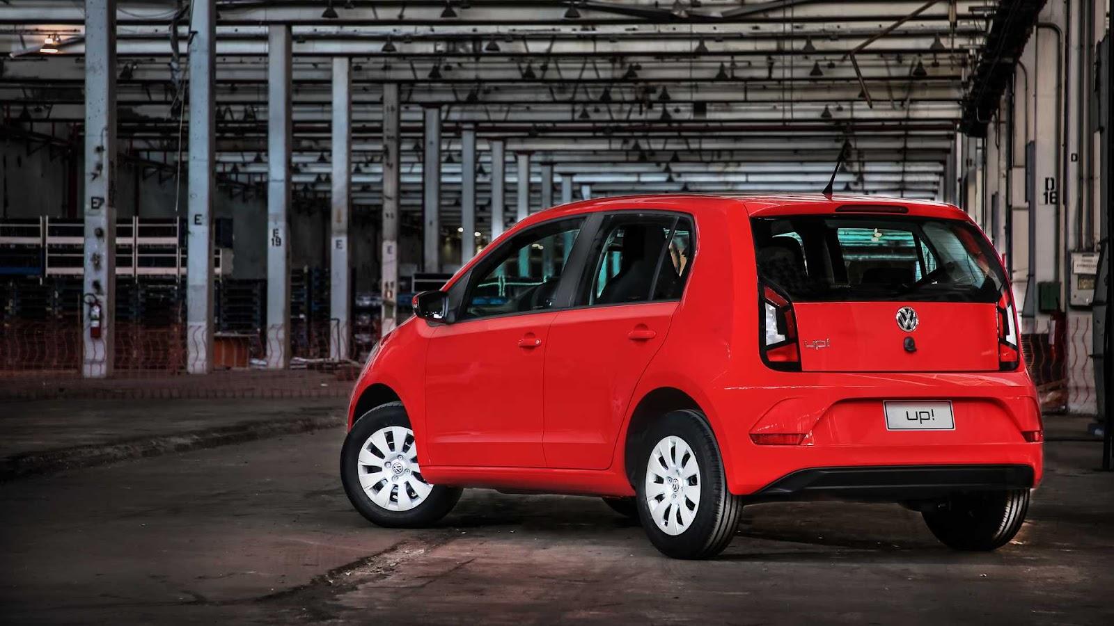 up! MY 20: novidade Volkswagen