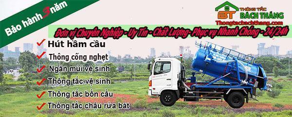 Dịch vụ thông bồn cầu tại xã Lý Nhơn BT online