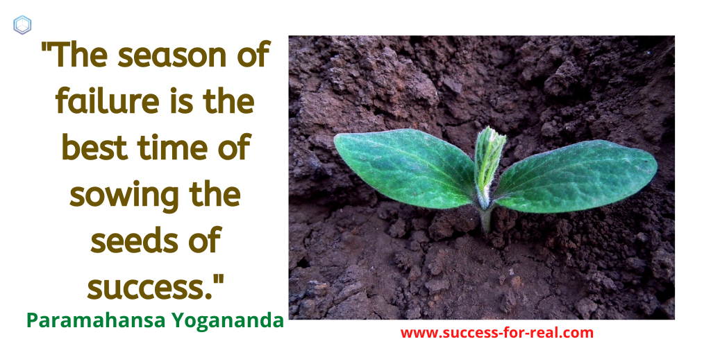 365 Success Quotes For Motivation - Picture Quote By Paramahansa Yogananda