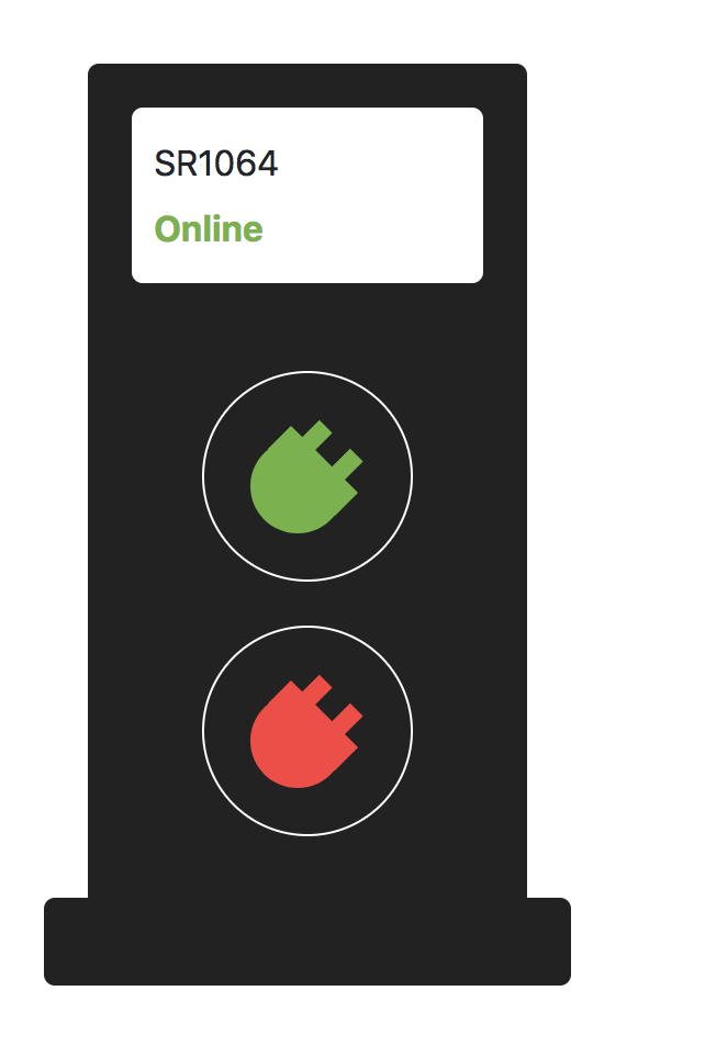 Example of web user interface