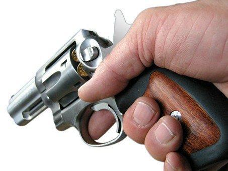 Revolver, Colt, Pistol, Weapon, Hand Gun