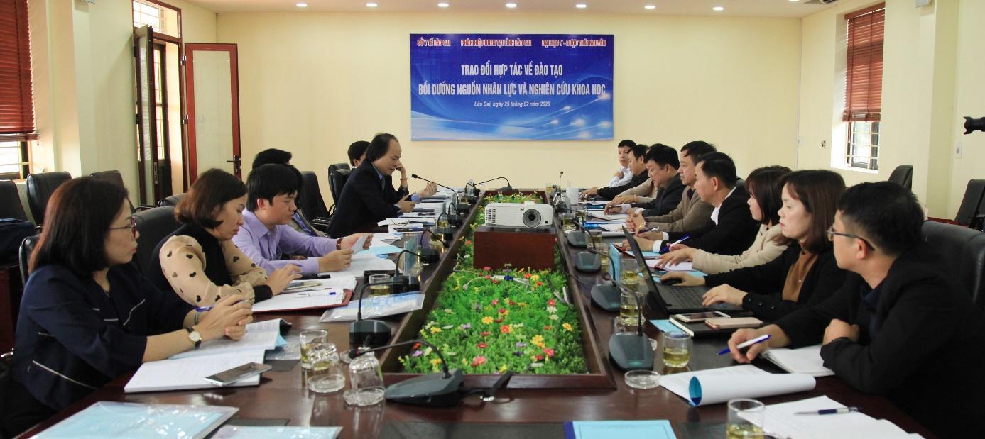 Hội nghị hợp tác đào tạo, bồi dưỡng nguồn nhân lực và nghiên cứu khoa học trong lĩnh vực Y – Dược