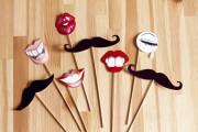 усы для вечеринки мастер класс