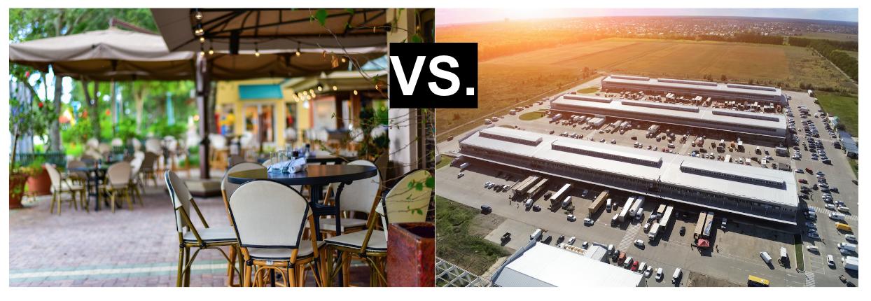 commercial vs. industrial engineering