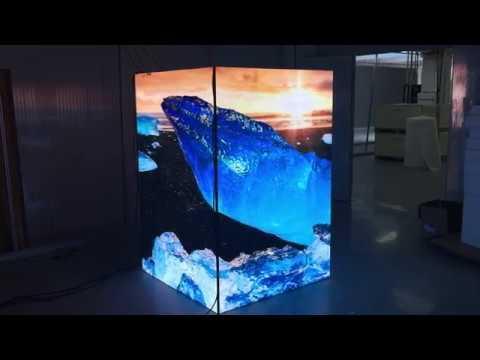 Cube/Cuboid LED Screens