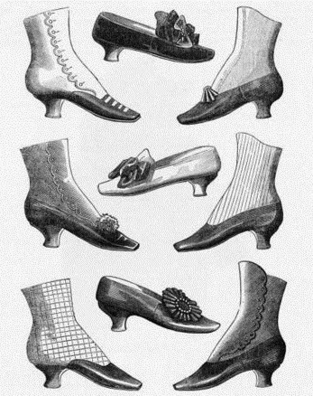 Footwear (1660-1680)