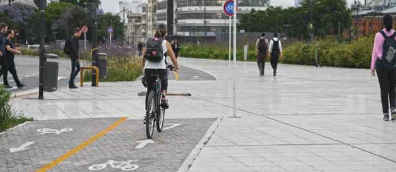 Metas mais ambiciosas envolvem aumentar espaço para pedestres e malha cicloviária.