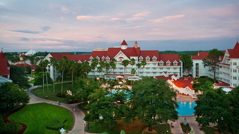 tropical vacation paradise at Disney World