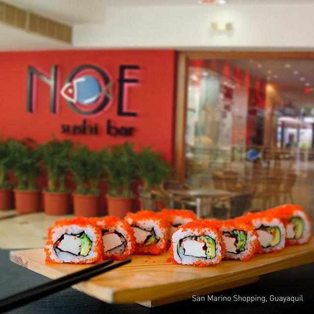 Noe Sushi Bar restaurant Guayaquil Japonese Ecuadorian cuisine
