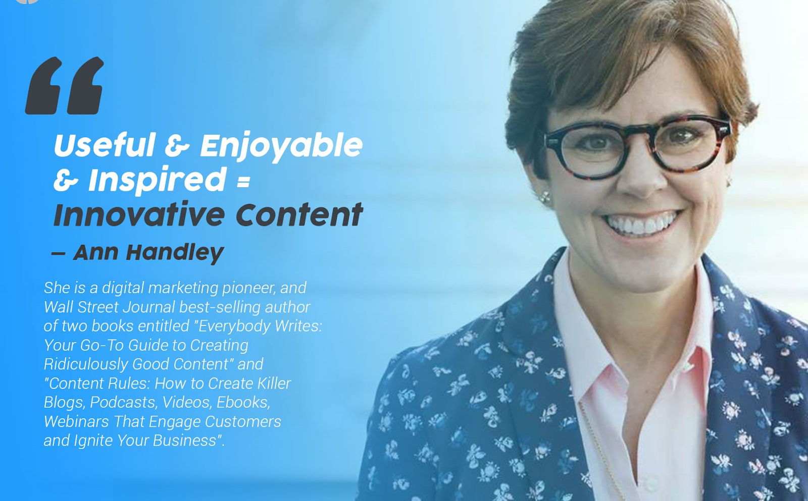 Content Writing Strategy of Ann Handley