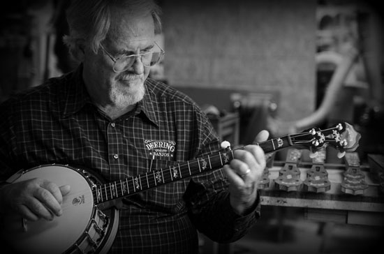 Greg Deering at Banjo 12 Eagle Music 2019