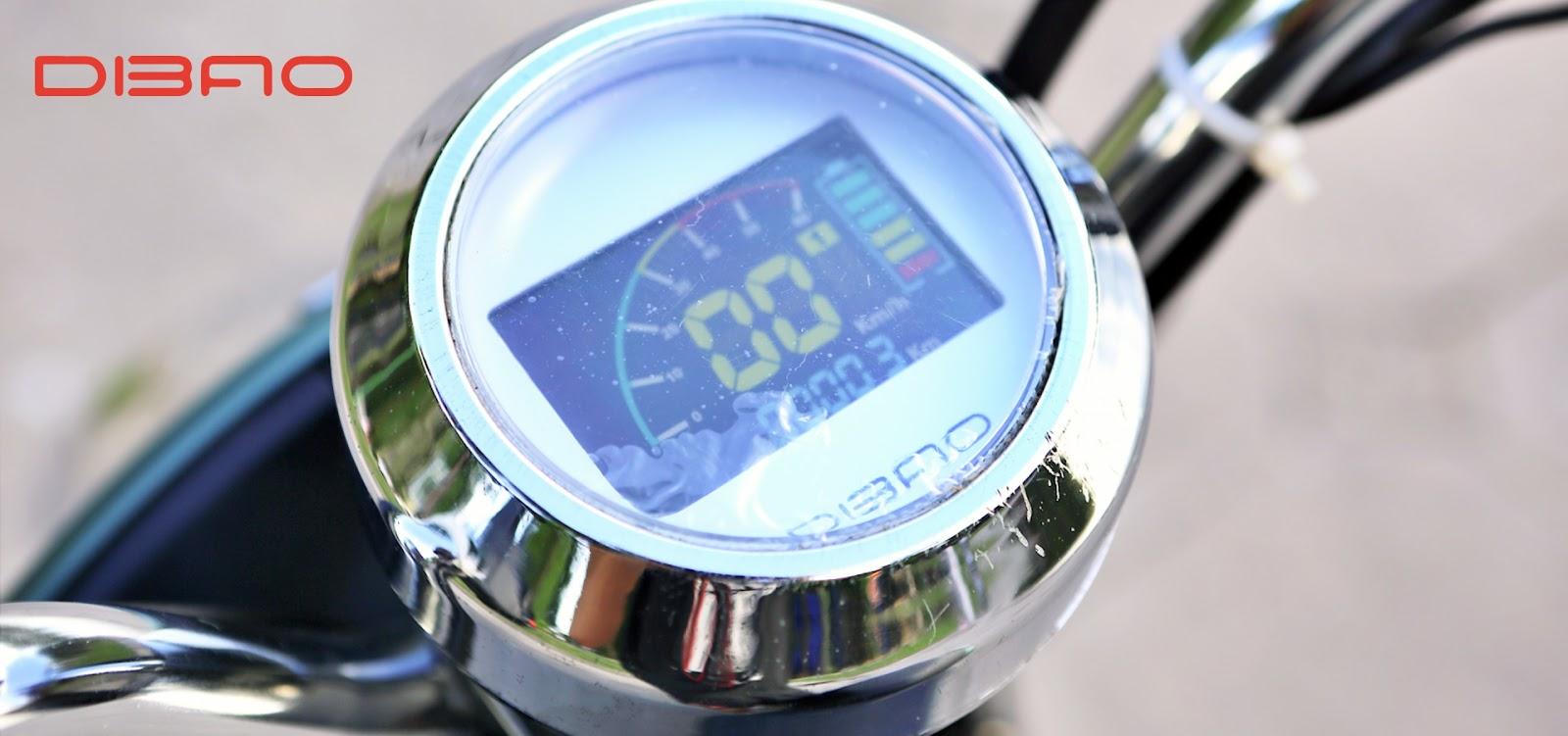 Dibao Nami có cụm đồng hồ kiểu mới