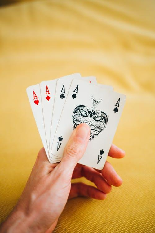Photo of Four Kinds of Ace Cards