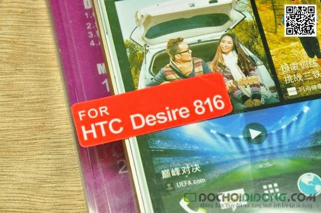 Ốp viền HTC Desire 816 Love Mei dạng gài