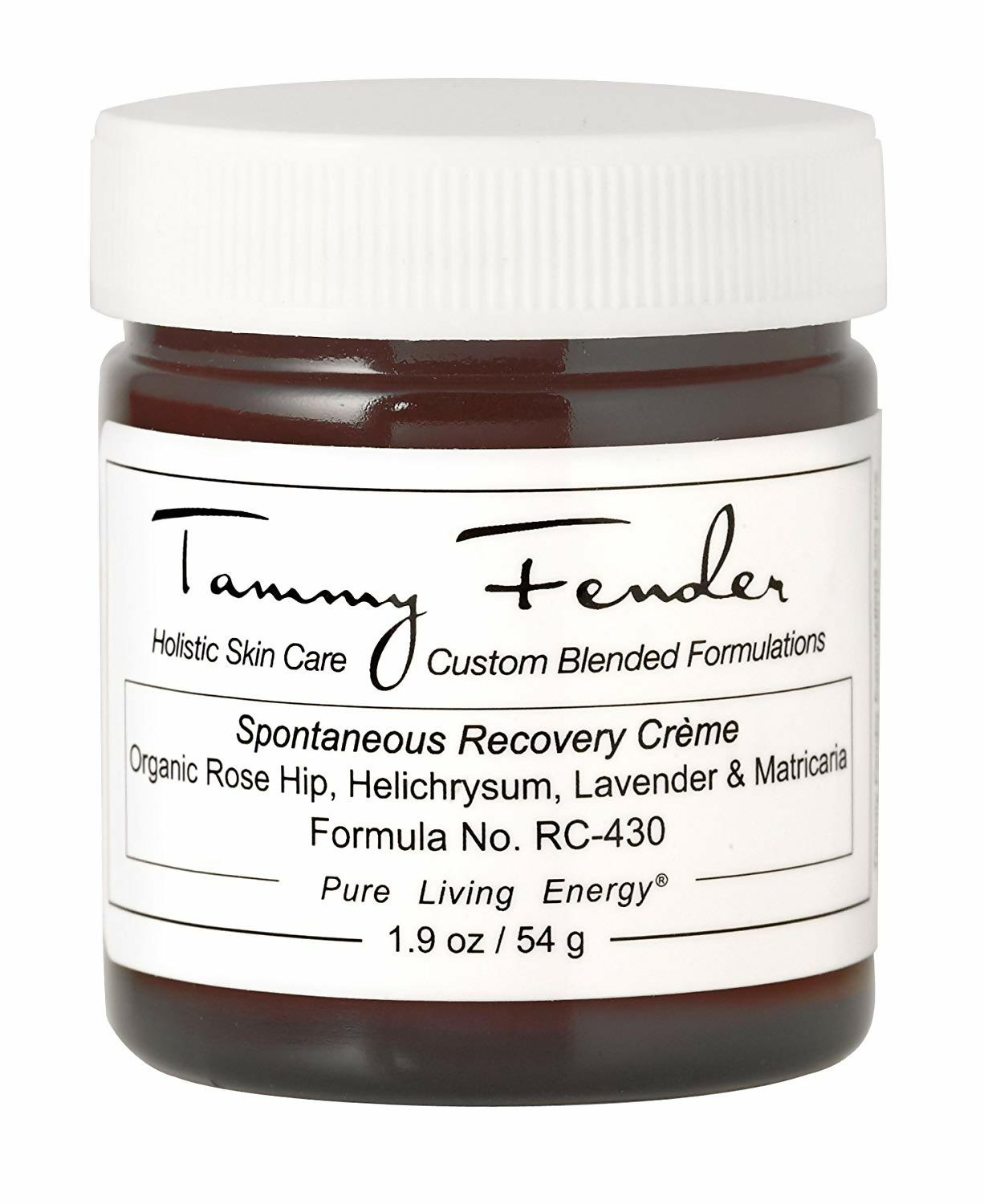 tammy fender, recovery creme