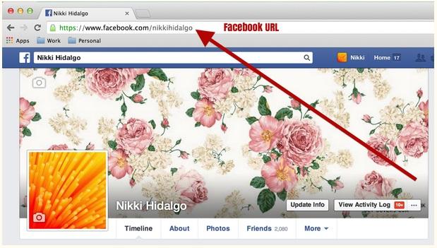 Facebook URL
