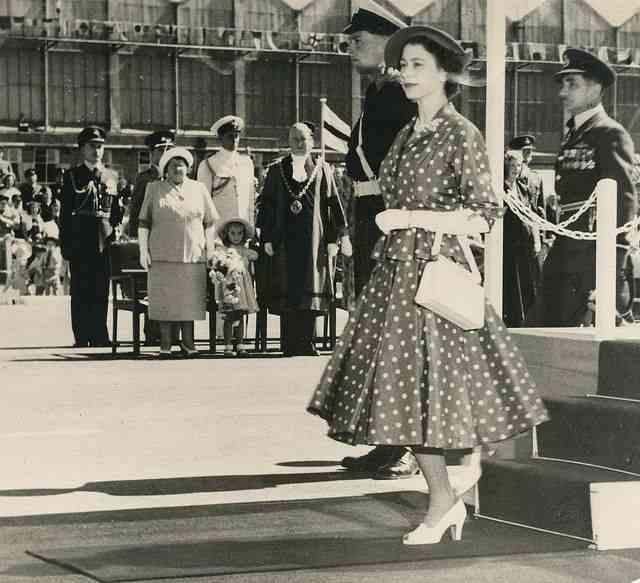 ১৯৫২ সালের কমনওয়েলথ ট্যুরে প্রিন্সেস এলিজাবেথ